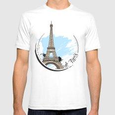 de Paris Mens Fitted Tee White MEDIUM