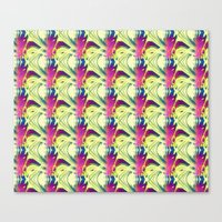 trippy Canvas Prints featuring Trippy by Idle Amusement