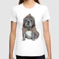 english bulldog T-shirts featuring English Bulldog in Stonehenge by Barruf