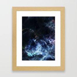 θ Maia Framed Art Print
