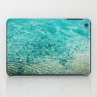 clear iPad Cases featuring Crystal Clear by Juste Pixx Photography