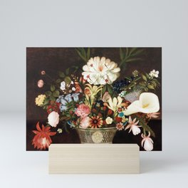 Rubens Peale From Nature in the Garden Mini Art Print