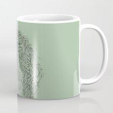 Tosca line art bird illustration Mug
