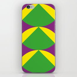 Of course those are Green Beans coming out from Yellow Shells. Happening in a Purple River. iPhone Skin
