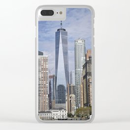 Tall Riverfront Clear iPhone Case