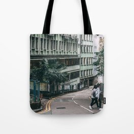 Morning in Hong Kong Tote Bag
