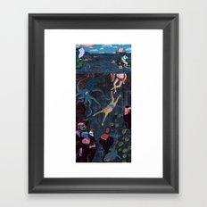 Swim Meet Framed Art Print