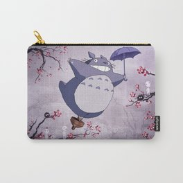 Fantastic Cherry Blossoms Sprites Kodama Landscape Artwork Carry-All Pouch