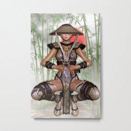 Yoshiko 4 Metal Print