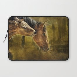 Horsing Around No. 2 - Pryor Mustangs Laptop Sleeve