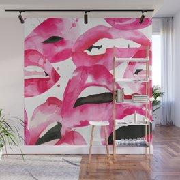 Lip Service Wall Mural