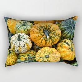 Decorative Pumpkins Rectangular Pillow
