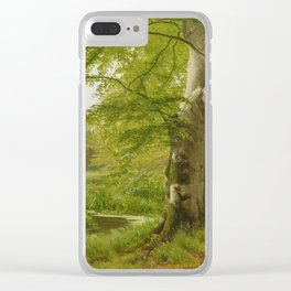 ANDERSEN-LUNDBY, ANDERS 1840 Lundby - 1923   Beech Forest in Early Summer Clear iPhone Case
