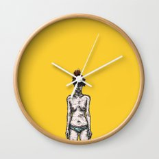 Tumor Face Wall Clock