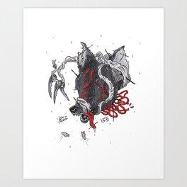 Bamdie Art Print