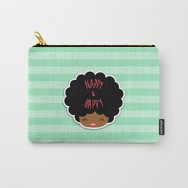 Nappy and Happy Afro Hair Carry-All Pouch