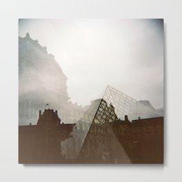 Musée du Louvre, Paris Metal Print