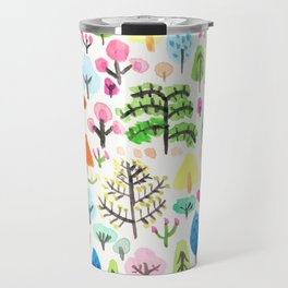 Botanical Garden illustration Travel Mug