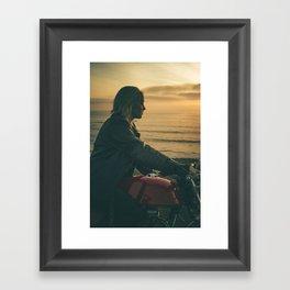 GOLD KISS Framed Art Print