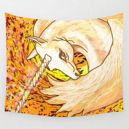 Otherworld Unicorns 6: Autumn Ether Wall Tapestry