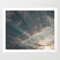 Rays of Sunlight Art Print