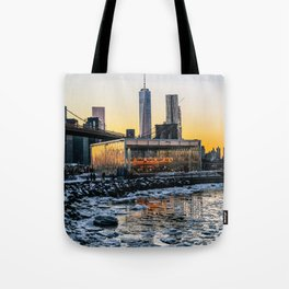 Winter in NY Tote Bag