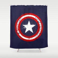 Captain's America splash Shower Curtain