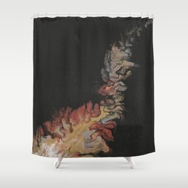 353, Firelight Shower Curtain