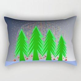 Christmas Dreamer | Christmas Spirit Rectangular Pillow