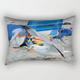 Beach Burglar   Rectangular Pillow