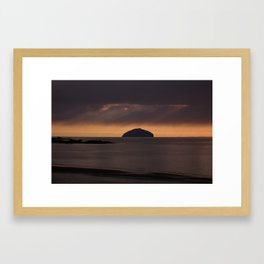 the ailsa craig 2 Framed Art Print