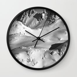 Mt.Fee Landscape series, Whistler BC Canada #5 of 5 Wall Clock