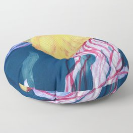 Sea Nettle Floor Pillow