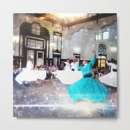 Dance of Light Metal Print