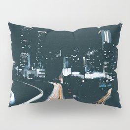 Atlanta Georgie Skyline at Night Pillow Sham