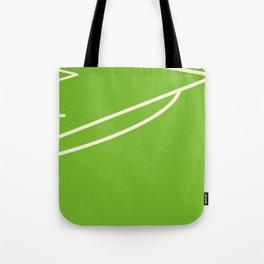 Footbal field Tote Bag