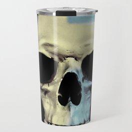 Swedish Skull Travel Mug