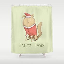 Santa Paws Shower Curtain