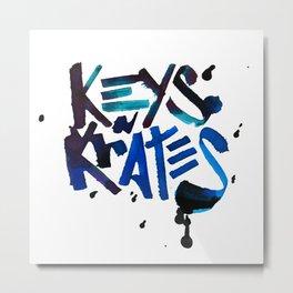 Keys n Krates Metal Print