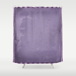 Violets are blue xxx Shower Curtain