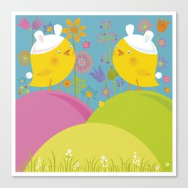 Happy Easter Time! Canvas Print