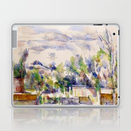 1902 - Paul Cezanne - Mont Sainte-Victoire Laptop & iPad Skin