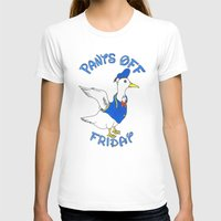 donald duck T-shirts featuring Pants Off Friday - Donald Duck by Bianca McKay
