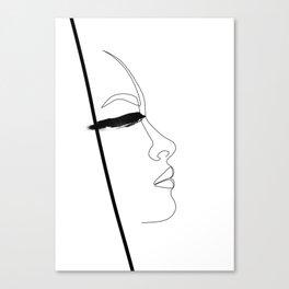 Blindly beautiful Canvas Print