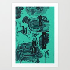 to see... Art Print