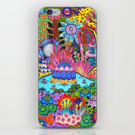 Pond Abstract iPhone Skin