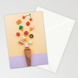 dessert sweets Stationery Cards