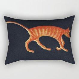 Ginger, Orange Tabby Rectangular Pillow