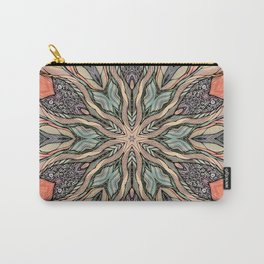 Autumn Leaves Mandala Carry-All Pouch