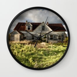 Neglected Homestead Wall Clock